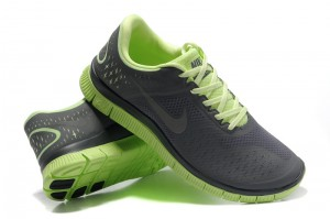 Nike Free 4.0 V2 Mens Shoes grey green