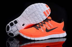 Nike Free 5.0 V2 Mens Shoes Orange Yellow