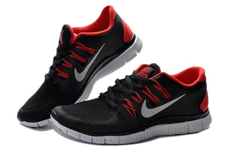 Nike Free 5.0 V2 Mens Shoes Red White Black