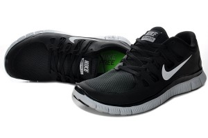 Women Nike Free 5.0 V2 Shoes Black