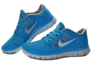 Nike Free 5.0 V2 Shoes Blue