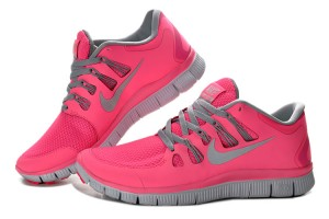Women Nike Free 5.0 V2 Shoes Pink