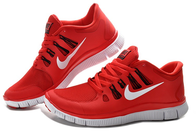 Women Nike Free 5.0 V2 Shoes Red