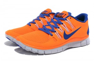 Nike Free 5.0 V2 Womens Shoes Blue Orange