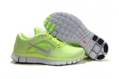 Nike Free 5.0 V3 Womens Running Shoes Green