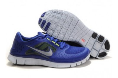 Nike Free 5.0 V3 Womens Running Shoes Purple Silver