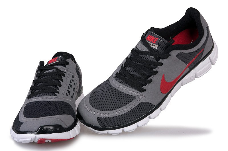 Nike Free 7.0 V2 Couple Shoes Grey Red