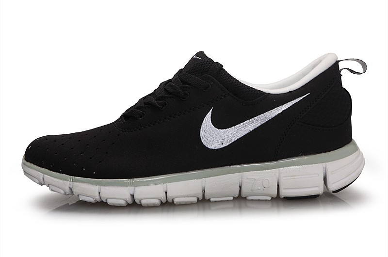 Nike Free 7.0 V3 Couple Shoes Black White