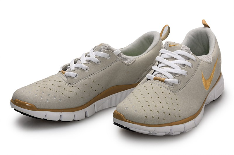 Nike Free 7.0 V3 Mens Running Shoes Grey Gold