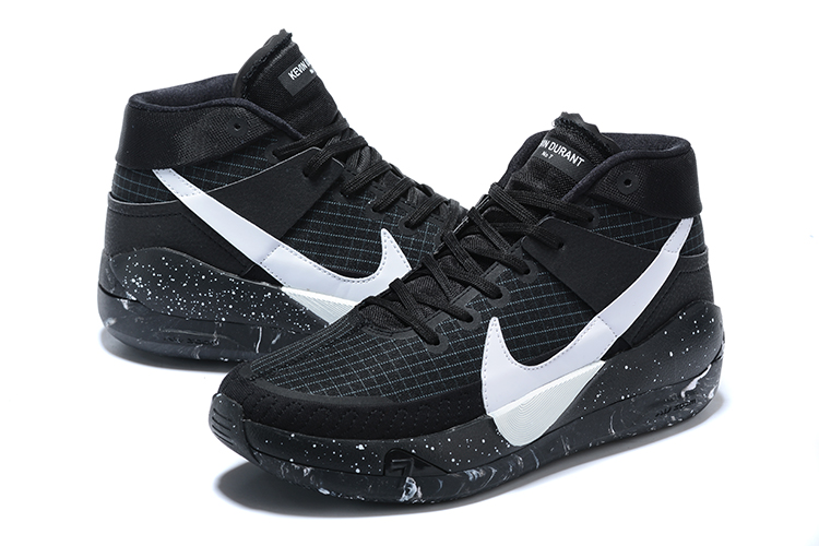 2020 Nike Kevin Durant 13 BHM Black White Shoes