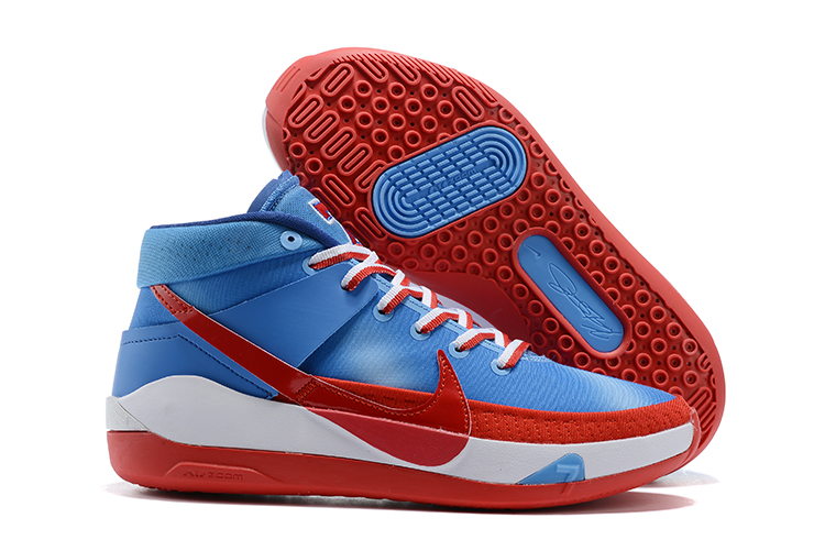 2020 Nike Kevin Durant13 Blue Red White