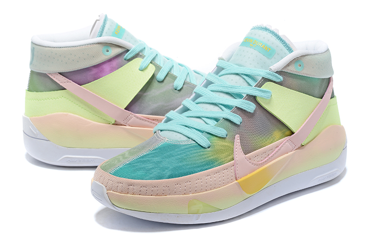 2020 Nike KD 13 Colorful Pink Green Blue
