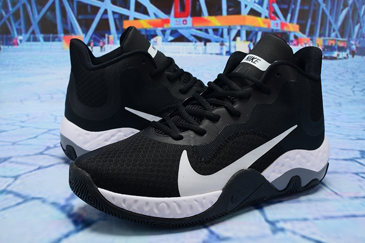2020 Nike KD Trey 6 Vllll Black White