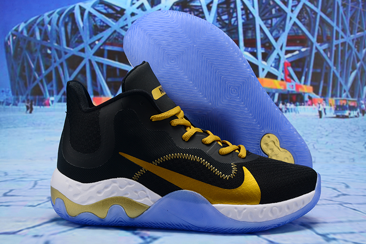 2020 Nike KD Trey 6 Vllll Black Yellow