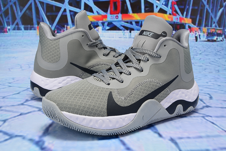 2020 Nike KD Trey 6 Vllll Wolf Grey Black