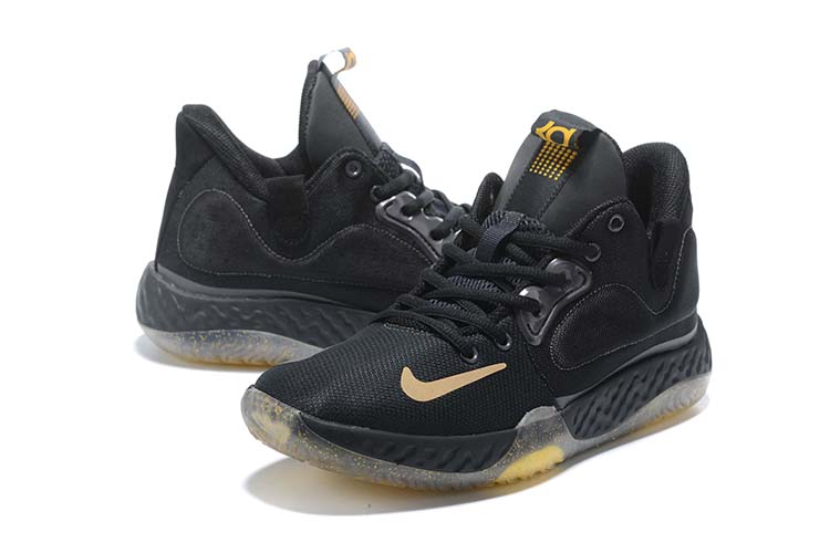 2020 Nike KD Trey IV Black Yellow