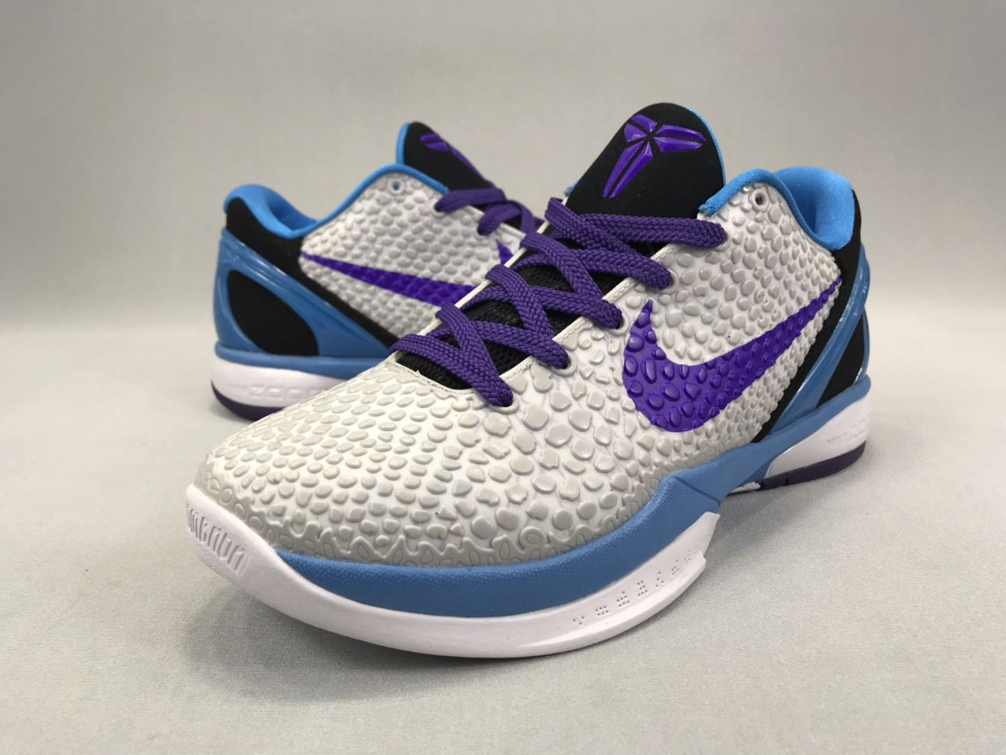 2020 Nike Kobe Bryant VI SnakeSkin Grey Purple Blue Black