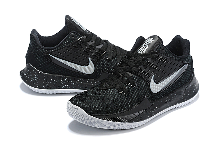 2020 Nike Kyrie Irving II Low Black Silver Shoes For Women