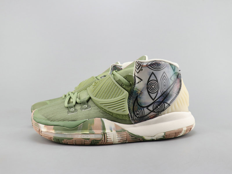 2019 Nike Kyrie Irving 6 All Star Flor Print Shoes