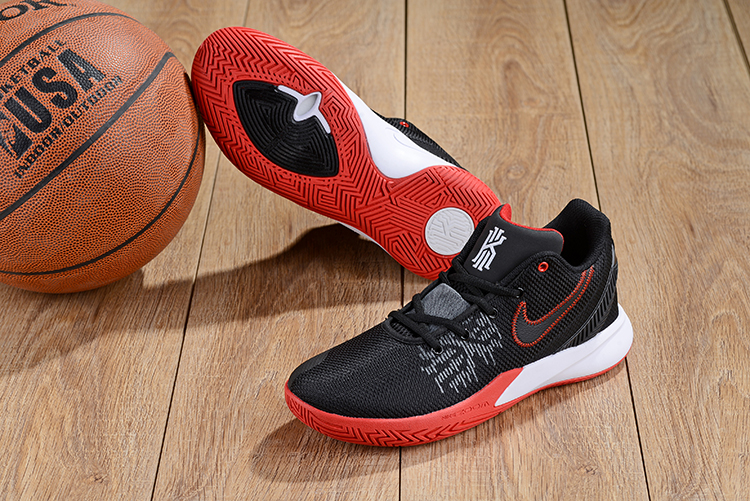 Nike Kyrie Irving Flytrap 2 Black Red White Basketball Shoes