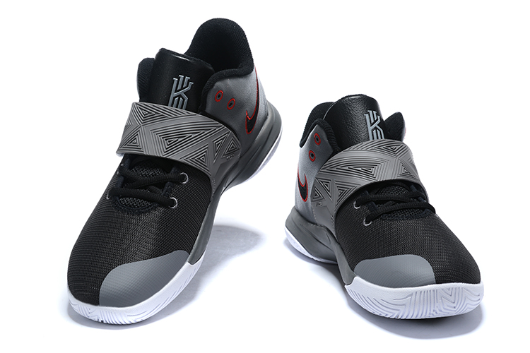 New Nike Kyrie Flytrap III Black Grey Red White