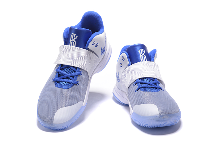 New Nike Kyrie Flytrap III White Baby Blue
