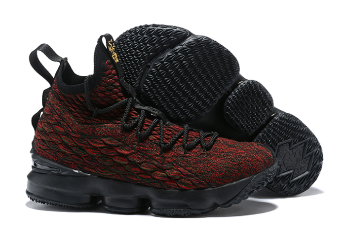 "Nike LeBron 15 ""BHM"" Black Multi-Color"