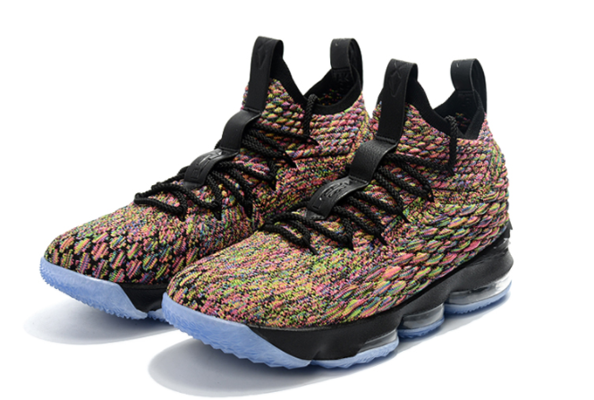 "Nike LeBron 15 ""Four Horsemen"" Multi-Color Black"