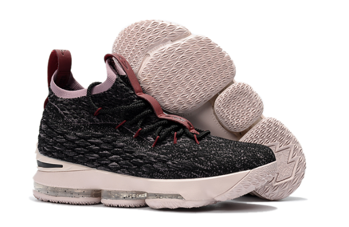 "Nike LeBron 15 ""Pride of Ohio"" Black Taupe Grey-Team Red"