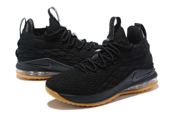 "Nike LeBron 15 Low ""Black Gum"" Shoes"