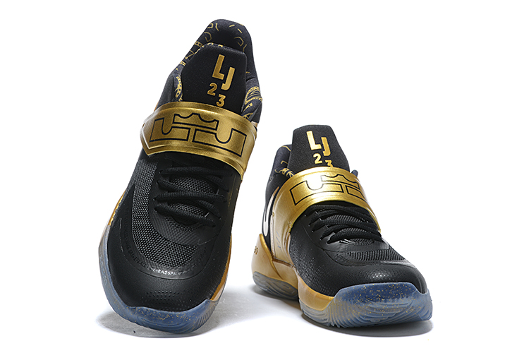 2020 Nike LeBron James Ambassador 12 Black Gold