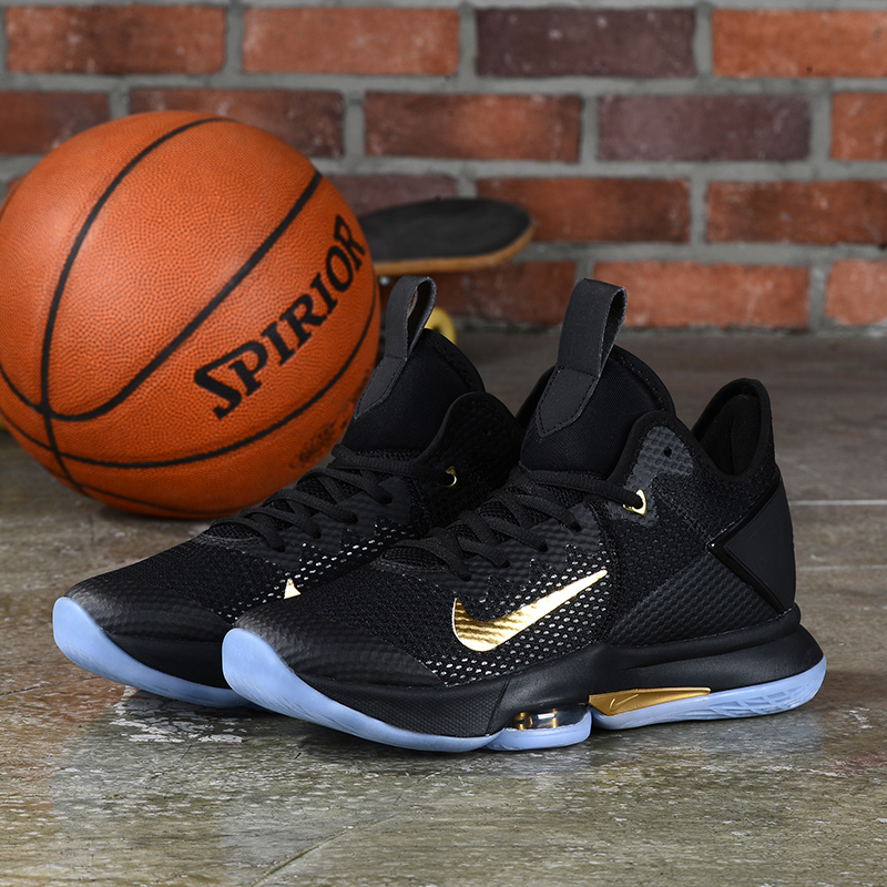 2020 Nike LeBron James Witness IV Black Gold