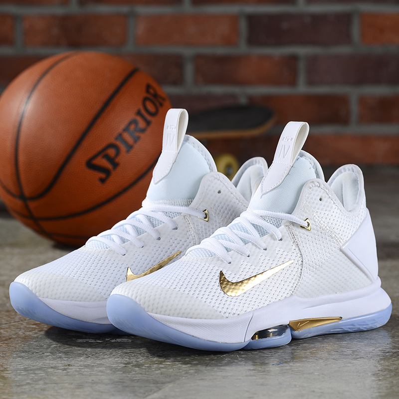 2020 Nike LeBron James Witness IV White Gold