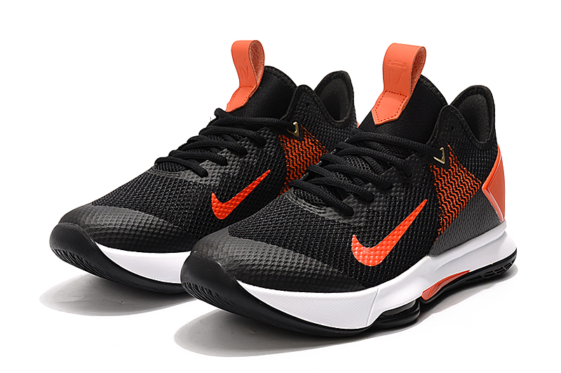 2020 Nike Lebron James Witness 4 Lakers Black Orange White