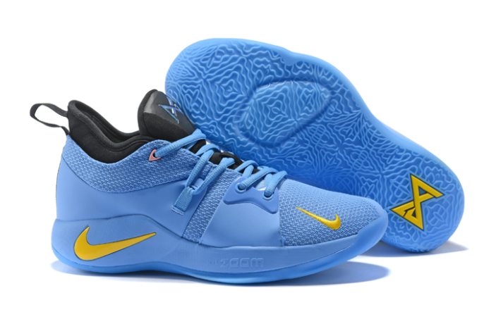 Nike PG 2 Blue Black Yellow