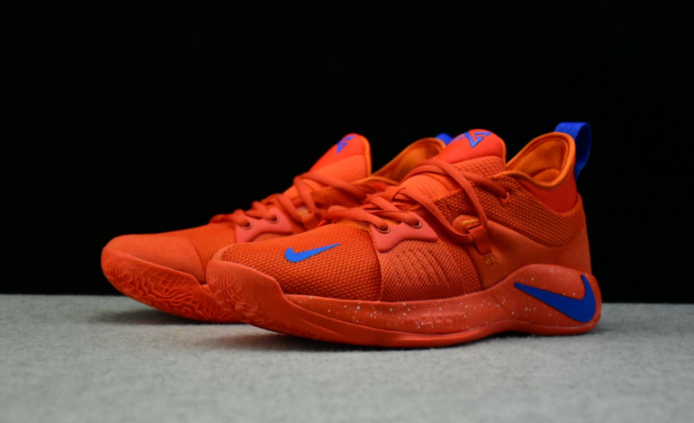 Nike PG 2 Team Orange Signal Blue