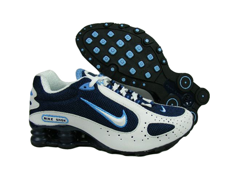 Nike Shox Monster Navy Blue White