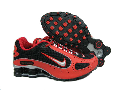 Nike Shox Monster Red Black Silver