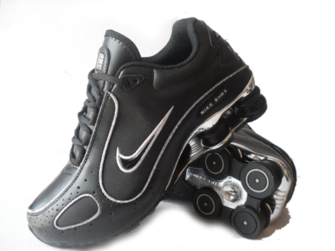 Nike Shox Monster SI Shoes Black Silver