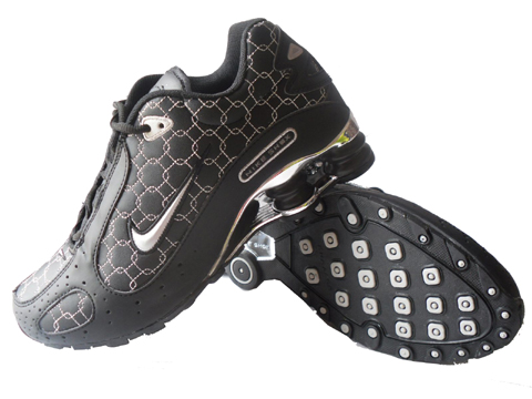 Nike Shox Monster SI Shoes Black White