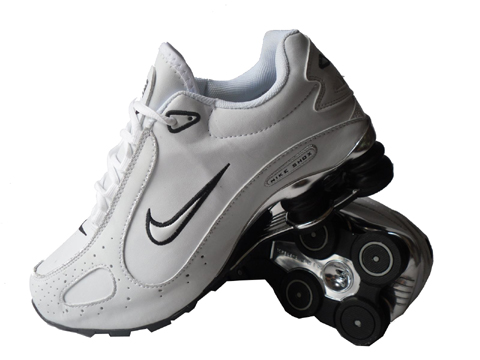 Nike Shox Monster SI Shoes White Black