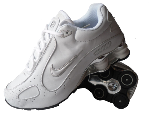 Nike Shox Monster SI Shoes White