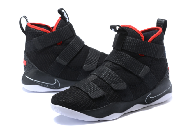 "Nike Zoom LeBron Soldier 11 (XI) ""Bred"" Shoes"