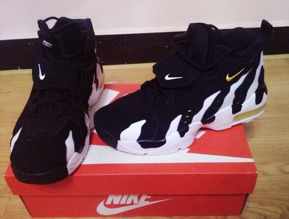 Nike Air Dairy Cow Black White Gold Shoes