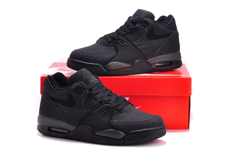 Nike Air Flight 89 All Black Shoes
