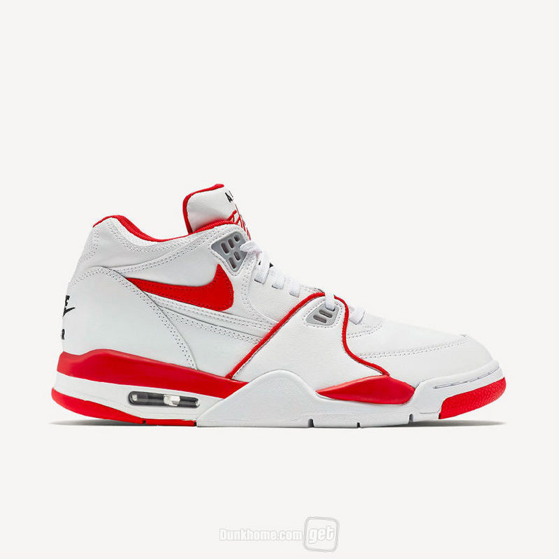 Nike Air Flight 89 Alternate White Red Shoes