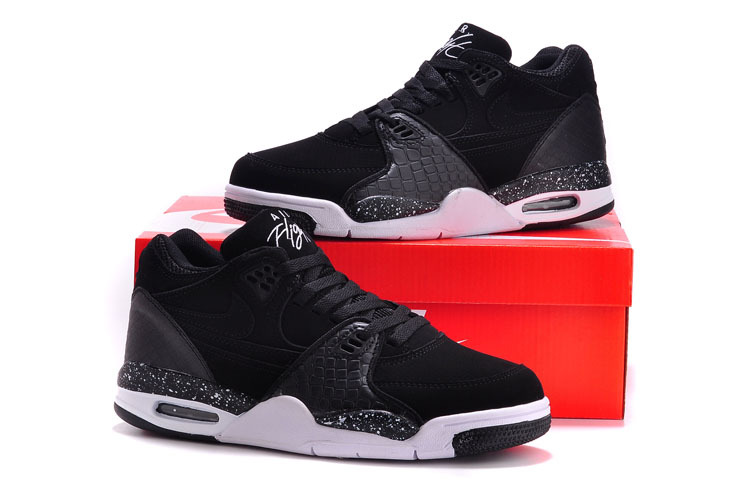 Nike Air Flight 89 Black White Shoes