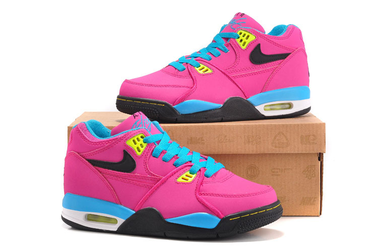 Nike Air Flight 89 Pink Blue Black For Women