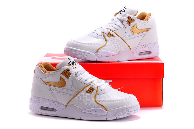 finest selection d2c17 17239 ... usa nike air flight 89 white gold shoes 817f0 58dc2