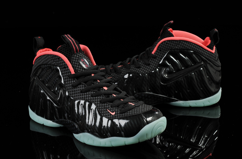 new concept c6112 c85bf Nike Air Foamposite Black Red Green Sole For Women